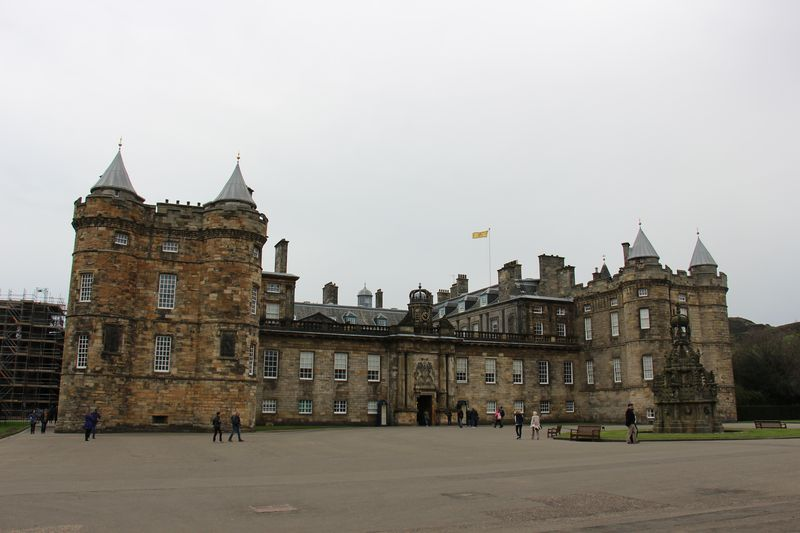 Palace of Holyroodhouse Edimburg